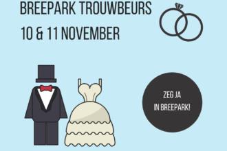 10 en 11 november: kom naar de Breepark Trouwbeurs in Breda!