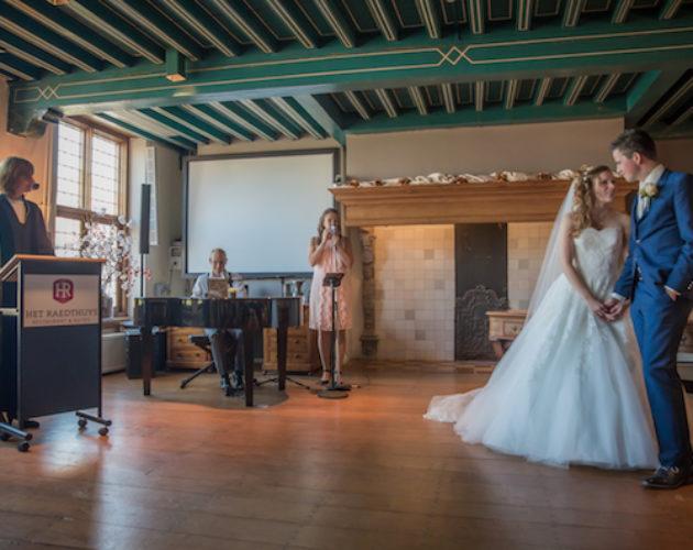 Trouwceremonie muziek Het Raedthuys
